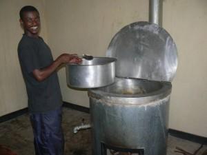 La preparazione del pasto nella nuova cucina